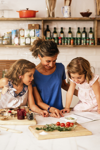 Plan meals with your family to save money and avoid waste